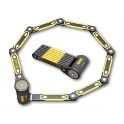 Zapięcie rowerowe ONGUARD Heavy Duty Link Plate Lock K9 SKŁADANE 8113 - 79cm - 5 x Klucze z kodem