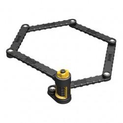 Zapięcie rowerowe ONGUARD Link Plate Lock K9 COMBO SKŁADANE 8115 - 88,5cm - SZYFR